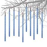 Aufgerüstet Meteorschauer Regen Lichter,Super hell Lichterkette Eiszapfen LEDs...