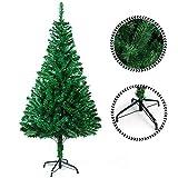 Sunjas Weihnachtsbaum, 120/150/180/210 cm Grün, künstlicher Tannenbaum, schwer...