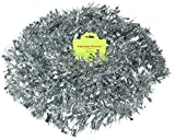 Silber Chunky / Fine Weihnachten Lametta - 4 Meter - Weihnachtsdekoration - Baum...