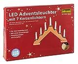 Idena LED Adventsbogen 7 Lichter, natur 8582088