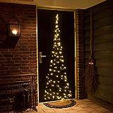 Fairybell Türhänger Weihnachtsbaum, 120 LED, 200 cm, warmweiß FA-1D210-120-0
