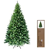 RS Trade 150 cm ca. 620 Spitzen hochwertiger künstlicher Weihnachtsbaum mit...