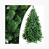 DecoKing 52518 180 cm Künstlicher Weihnachtsbaum Tannenbaum Christbaum grün Tanne...