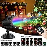 LED Lichteffekt,SGODDE LED Projektor Lichter,LED Effektlicht mit 16 Motiven,2/4/6...