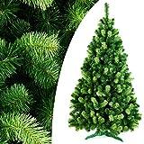 DecoKing 180 cm Künstlicher Weihnachtsbaum Tannenbaum Christbaum Tanne Daria...