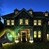 OUTTUO LED Lichteffekt Dekoration, innen/außen IP65 LED Projektor, Gartenleuchte...