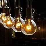 Lichterkette Außen, TOGAVE 9.5M Lichterkette Glühbirnen Außen 29 G40 Birnen IP44...