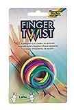 folia 33177 - Finger Twist Fadenspiel, in trendiger Regenbogen Optik, ca. 160 cm...