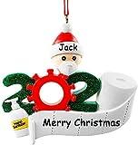 NewX Weihnachtsbaumschmuck 2020 Ornament Quarantäne zu Hause Familie von...