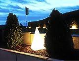 Trango 7231L IP65 LED Leucht-Figur *PYRAMIDE* inkl. 1x 7 Watt E27 LED Leuchtmittel...