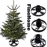 FineHome Metall Tannenbaumständer Weihnachtsbaumständer Ø 40cm Baumständer...