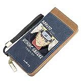 Uzumaki Naruto, lange Anime Brieftasche, männliche / weibliche Zero-Geldbörse,...