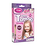 Tytoo Glitzertattoo Set für Mädchen mit 15 Schablonen- hypoallergen und hält bis...