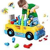 HOMOFY multifunktionale Konstruktion auseinander nehmen Spielzeug,Werkzeug Lastwagen...