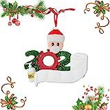MEISHANG Dreidimensional Weihnachtsschmuck,Weihnachten Anhänger...