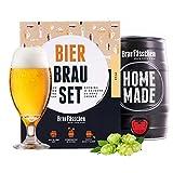 braufaesschen |Bierbrauset zum selber brauen | Pils im 5 Liter Fass | In 7 Tagen...