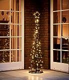 LED Metall-Tannenbaum | mit warmweißen LED beleuchtet | Lichterbaum - Weihnachtsbaum...