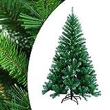 Hegnda 150cm Künstlicher Weihnachtsbaum mit 350 Äste schwer entflammbarer...