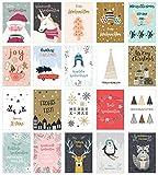 Edition Seidel Set 20 exklusive Premium Weihnachtskarten mit Umschlag....
