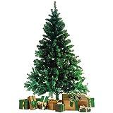 Wohaga® Künstlicher Weihnachtsbaum Tannenbaum inklusive Christbaumständer 180cm /...