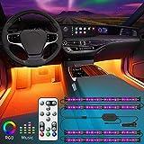 LED Innenbeleuchtung Auto, Govee Auto LED Strip Beleuchtung mit Zwei-Linien-Design,...
