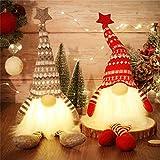 MTaoyac Weihnachten Deko Wichtel 49 cm Hoch, Schwedischen Weihnachtsmann Santa Tomte...