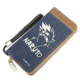 ZQHUAA Langer Anime. Geldbeutel Brieftasche, Naruto: Hatake Kakashi, Männer und...