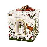 Villeroy und Boch - Christmas Toy's Windlicht 'Weihnachtsbaum' groß eckig,...