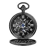 HHTD. Klassische Retro Black Vier-Blatt-Kleeklassische Klassische nostalgische Uhr...