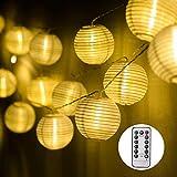 EKKONG Led Lichterkette,Verbesserte Version mit Fernbedienung und Timer, Lampion...