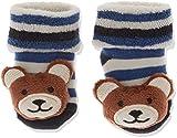 Sterntaler Baby-Jungen Rasselsöckchen Socken, Blau (Marine 300), One Size (15/16)