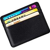 Schlanke Brieftasche Faux Leder Kreditkarten Halter Blockierkarte Brieftasche...