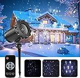 Led projektor weihnachten GreenClick LED Schneeflocke Projektor lichter Außen mit...
