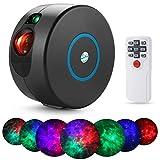 Refaney Galaxy-Projektor mit Fernbedienung, 7 Farben zur Auswahl und 15 Lichteffekte,...