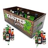 Männer-Kräutergarten | witziges Geschenk mit Alkohol | 8x Kräuter-Likör für...