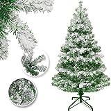 KESSER® Weihnachtsbaum künstlich 120cm mit 216 Spitzen, Tannenbaum künstlich...