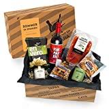 Präsentkorb SOMMER IN SPANIEN - Geschenkkorb gefüllt mit Sangria & spanischen...