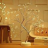 Bsopem Kirschblüten-Baum-Licht, USB-Weihnachtsbaum-LED-Zweig-Licht,...