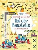 Mein Wisch-und-weg-Buch: Auf der Baustelle: mit abwischbarem Stift