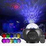 LED Sternenhimmel Projektor Lampe Nachtlicht Galaxy Projektor, Starry Projector Light...
