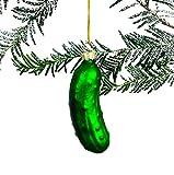 Livslyst Weihnachtsgurke Christbaumschmuck aus echtem Glas (Christmas Pickle,...