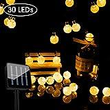 Romanda Solar Lichterkette Außen LED Lichterketten für Draußen Innenräume mit...