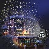 SMITHROAD LED Projektionslampe mit Fernbedienung Bewegliche Punkte Muster...
