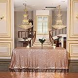 Eternal Beauty Pailletten-Tischdecken, Hochzeit, Halloween, Weihnachten, Party,...