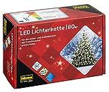 Idena 8325058 - LED Lichterkette mit 80 LED in warm weiß, mit 8 Stunden Timer...