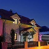 Colleer LED Projektionslampe, Lichteffekt mit Schutzart IP65 für Innen und Außen,...