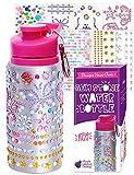 Purple Ladybug Dekorieren Sie Ihre Wasserflasche für Mädchen mit...