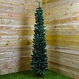 Powzz ornament 200CMWeihnachtsbaum Green Pencil Pine Slim Tree 200 x 56cm...