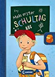 Mein erster Schultag - Jungen: Eintragbuch zur Einschulung für Jungen -...