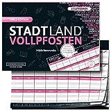 DENKRIESEN - Stadt Land VOLLPFOSTEN® - Girls Edition - Stadt Land FLUSS FÜR...